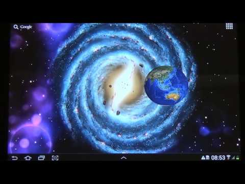 Video of 3D Space Live Wallpaper