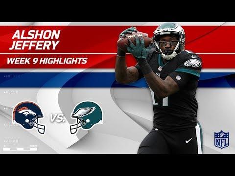 Video: Alshon Jeffery's 2 TD Grabs vs. Denver! | Broncos vs. Eagles | Wk 9 Player Highlights