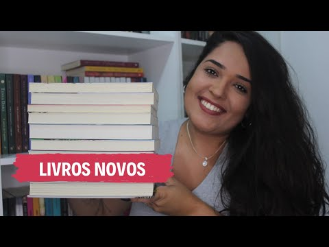 LIVROS NOVOS NA ESTANTE | Sibelly Maria