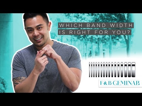 Which Band Width for Rings & Jewelry Is Right for You?