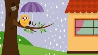 It's Raining It's Pouring The Old Man is Snoring with Lyrics - Animated Nursery Rhymes - All Time Children's Favorite Songs, by EFlashApps Entire collection ...
