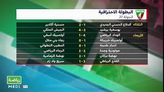 تشويق وصراع محتدم على بعد ثلاث دورات من نهاية موسم البطولة الاحترافية