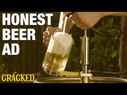 If Beer Ads Were Forced to Be Honest – Beer Commercial Parody