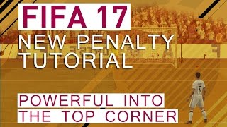A tutorial about the new penalties in FIFA 17 and how you can shoot them powerful into the top corner!▼Click here for additional information! :-)The penalties are completely reworked in FIFA 17. We explain how you can take the penalty really powerful and place them right under the crossbar into the corners!Also checkout our other tutorial videos about FIFA 17:https://www.youtube.com/playlist?list=PLsmsVY17ANMz_Lsac5truk0XnAm94gsB_FIFA 17 Fake Throw-ins: https://www.youtube.com/watch?v=hHY-QpNkkRQ• FIFA 17 GuideThis video is going to be a part of a huge FIFA 17 guide. If you are interested in more information on that, check out our Patreon campaign: https://goo.gl/ApPkDiWe are going to provide more information within the next weeks and keep you updated on the progress!• Pre-order FIFA 17 and support bPartGaming for free!http://goo.gl/Zq88qgThanks!• Social MediaFacebook: http://bit.ly/bPG-FacebookTwitter: http://bit.ly/bPG-TwitterGoogle+: http://bit.ly/bPG-Googleplus