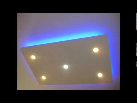 Alçıpan Asma Tavan Led Gizli Işık Çalışması - Emek Dekorasyon - 05332482320