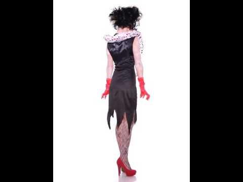 Déguisement Femme Diabolique Zombie