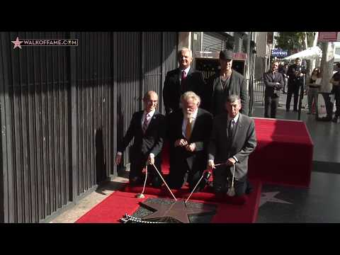 Nick Nolte Walk of Fame Ceremony