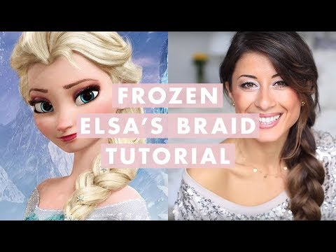 Frozen Elsa's Braid Hair Tutorial
