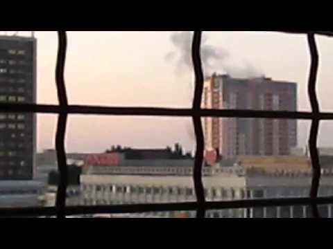 Луганск американо фашисткий минометный обстрел СБУ 27.07.14