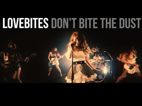 LOVEBITES - Don't Bite The Dust [MUSIC VIDEO (with English lyric subtitles)] online metal music video by LOVEBITES