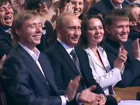 КВН Прикололись над Путиным - DomaVideo.Ru