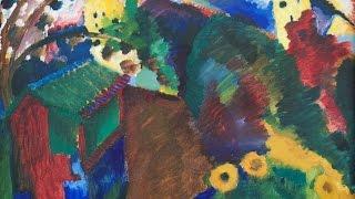 Die Gärten - Kandinsky, Marc & Der Blaue Reiter