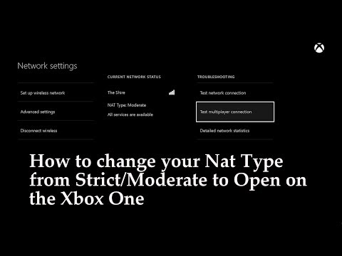 Xbox One: How to Open your NAT to Connect to Live Members and Servers