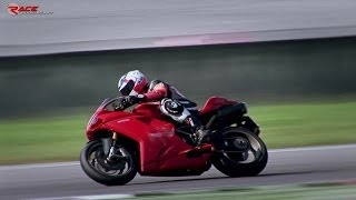 5. Ducati 1198S 2010 sound on track + CRASH - Nicola Gandini