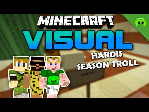 MINECRAFT Adventure Map # 82 - Visual Project 2 «» Let's Play Minecraft Together | HD