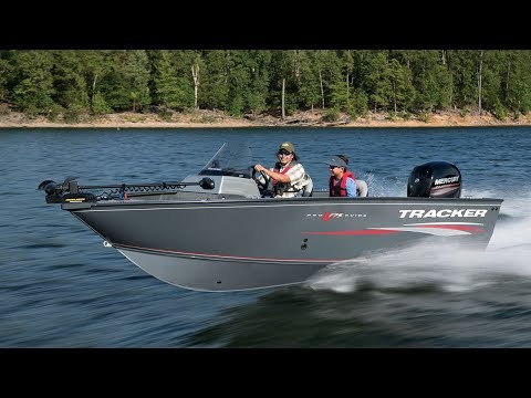 TRACKER Boats: 2018 Pro Guide V-175 SC Deep V Fishing Boat