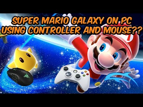 DOLPHIN EMULATOR MOUSE AND CONTROLLER SETUP (SUPER MARIO GALAXY CONTROLLS)