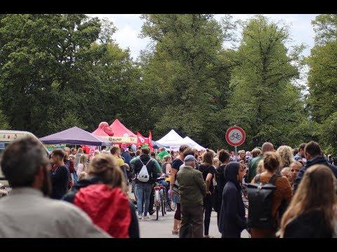 Leipzig: Brückenfest an der Leipziger Sachsenbrück am ...