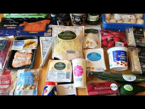 Atkins diet - Keto Diet Grocery Haul For Getting Back To Keto