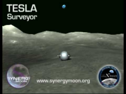 Google Lunar X Prize - TEAM SYNERGY MOON - Tesla Surveyor Rover