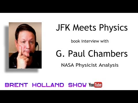 JFK video Kennedy assassination NASA Grassy Knoll proof Paul Chambers Night Fright Brent Holland