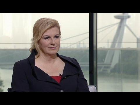 Croatian President Kolinda Grabar Kitarovic From Peace Recession To Feminism