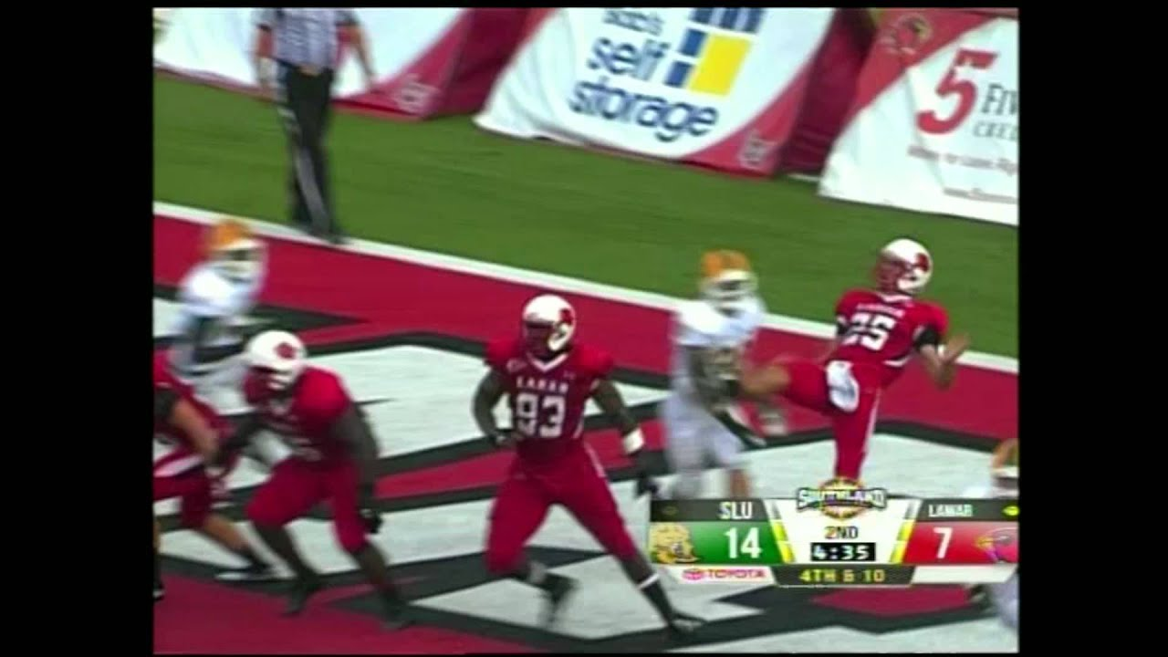 Robert Alford vs Missouri & Lamar (2012)