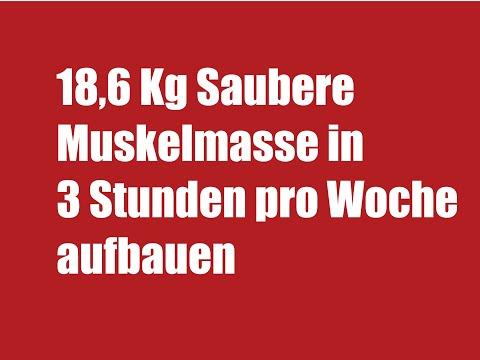 Schneller Muskelaufbau – Bodybuilding-Muskelaufbau TRAININGSPROGRAMM:))