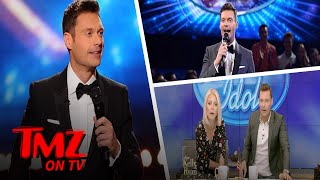 "Ryan Seacrest can start practicing his ""THIS ... is American Idol "" line again ... he's finally inked his deal to return as host after months of intense negotiations.SUBSCRIBE: http://po.st/TMZSubscribeAbout TMZ:TMZ has consistently been credited for breaking the biggest stories dominating the entertainment news landscape and changed the way the public gets their news. Regularly referenced by the media, TMZ is one of the most cited entertainment news sources in the world. Subscribe to TMZ on YouTube for breaking celebrity news/ gossip and insight from the newsroom staff (TMZ Chatter & TMZ News), the best clips from TMZ on TV, Raw & Uncut TMZ paparazzi video (from TMZ.com) and the latest video from TMZ Sports and TMZ Live! Keeping Up with Our YouTube Exclusive Content:TMZ Chatter: TMZ newsroom staff insight and commentary from stories/ photos/ videos on TMZ.com TMZ News: The latest news you need to know from TMZ.comRaq Rants: Raquel Harper talks to a celebrity guest with ties to the hip hop and R&B communities.Behind The Bar Podcast: TMZ's lawyers Jason Beckerman and Derek Kaufman loiter at the intersection of law and entertainment, where they look closely at the personalities, events and trends driving the world of celebrity — and how the law affects it all.We love Hollywood, we just have a funny way of showing it.Need More TMZ?TMZ Website: http://po.st/TMZWebsiteLIKE TMZ on Facebook! http://po.st/TMZLikeFOLLOW TMZ on Twitter! http://po.st/TMZFollowFOLLOW TMZ on Instagram! http://po.st/TMZInstaTMZ on TV & TMZ Sports on FS1 Tune In Info: http://po.st/TMZOnAirTMZ is on iOS! http://po.st/TMZiOSTMZ is on Android! http://po.st/TMZonAndroidGot a Tip?Contact TMZ: http://po.st/TMZTipCheck out TMZ Live, TMZ Sports and toofab!TMZ Live: http://po.st/TMZLiveWebsiteSubscribe! TMZ Live: http://po.st/TMZLiveSubscribeTMZ Sports: http://po.st/TMZSportsWebsiteSubscribe! TMZ Sports: http://po.st/TMZSportsSubscribeToofab: http://po.st/toofabWebsiteSubscribe! toofab: http://po.st/toofabSubscribeRyan Seacrest Is Officially Going Back To 'American Idol'  TMZ TVhttps://www.youtube.com/c/TMZ"