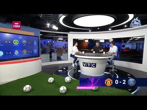 BLV Quang Huy |  Nhận xét về khả năng đi tiếp của Man Utd sau thất bại 0 - 2 ở lượt đi - Thời lượng: 10 phút.