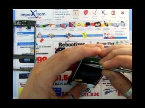 IMPEXTROM - COMO CAMBIAR / TROCAR DISPLAY PANTALLA LCD NOKIA N95 (видео)