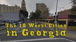 Where are the worst places to live in Georgia? We crunched the numbers to find out.