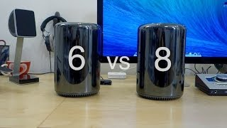 New Mac Pro: 6-Core Vs 8-Core Benchmarks&Impressions! (2013 / 2014)