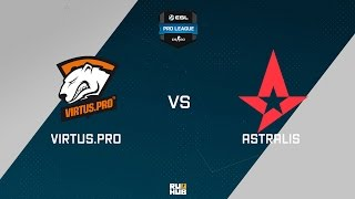 Astralis vs VP, game 1