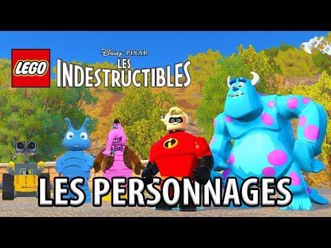 LEGO LES INDESTRUCTIBLES - LES PERSONNAGES