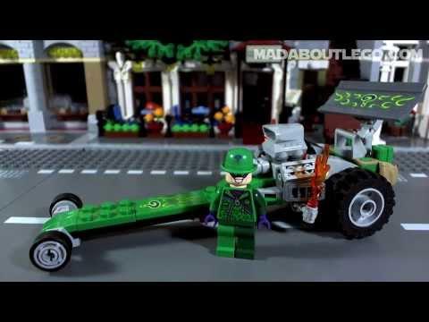 Vidéo LEGO DC Comics Super Heroes 76012 : Batman : la poursuite du Sphinx
