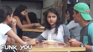 Video Eating Girl's Food Prank by Funk You (Prank in India) MP3, 3GP, MP4, WEBM, AVI, FLV April 2018