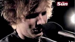 Ed Sheeran - Skinny Love (The Sun Biz Session)