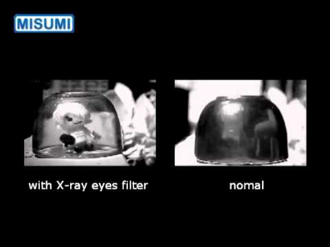 how to make x-ray camera filter