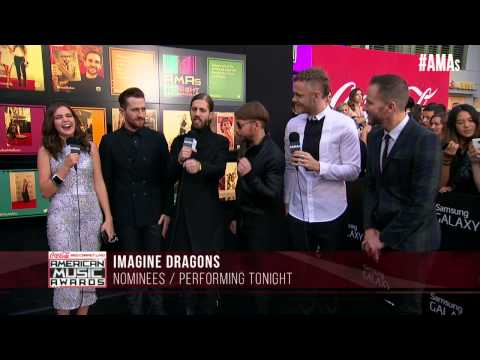 Imagine Dragons Red Carpet Interview - AMAs 2014
