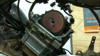 8. Setting the timing on a Canam Motor