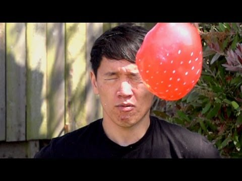 Water Balloons Filmed In Slow Motion: What Could Possibly Go Wrong?