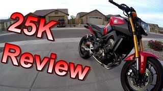 7. 25K Mile Review  |||  FZ-09