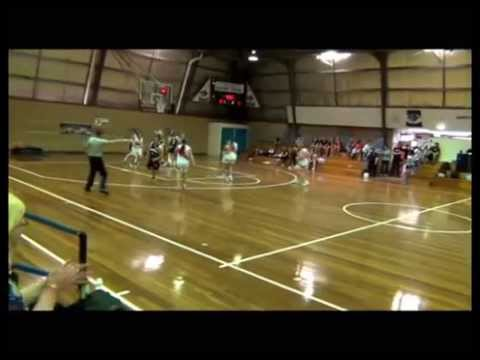 Jessi Reeves Coffs Harbour Suns basketball (видео)