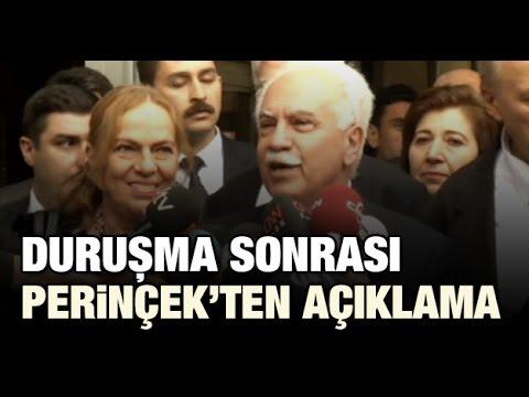 Vatan Partisi Genel Başkanı Doğu Perinçek Ergenekon davası temyiz duruşması çıkışında bir açıklama yaptı.