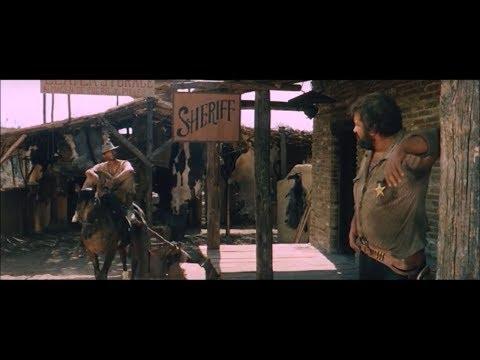 Lo Chiamavano Trinità - Trinità incontra lo sceriffo.. la mano sinistra del diavolo