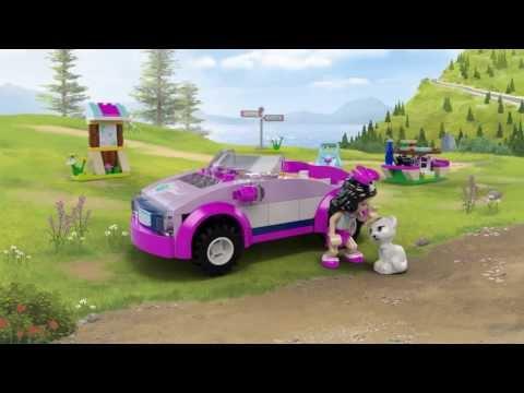"""Конструктор LEGO Friends 41013 """"Спортивный автомобиль Эммы"""""""