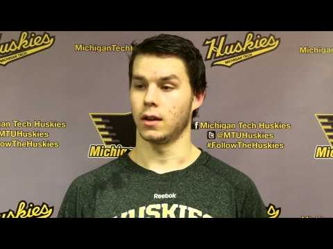 Tanner Kero Postgame Interview vs. Bowling Green, 12-14-13