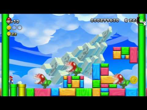 Walkthrough New Super Mario Bros U - Nintendo Wii U - Episode 2 -