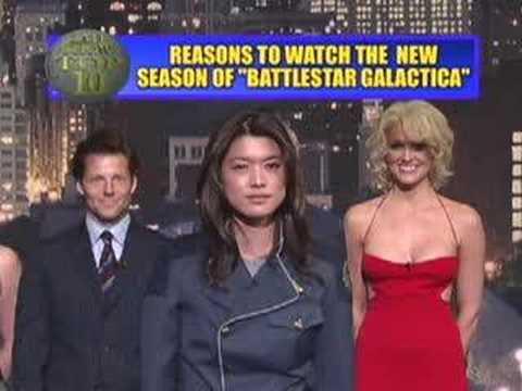 10 důvodů pro sledování Battlestar Galacticy
